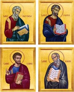 4 Gospel Writers