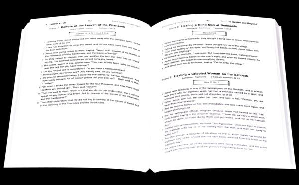 The Synoptic Gospel open book sample