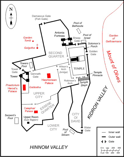TSG Map of Jerusalem