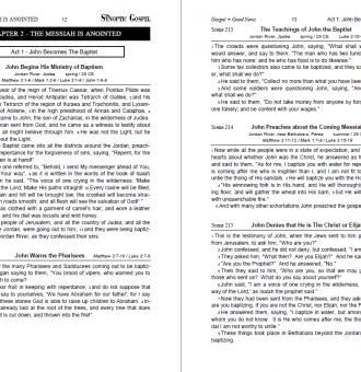 The Synoptic Gospel - Standard book 1